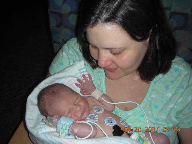 Luke & Mommy